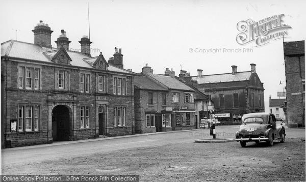 Photo of Leyburn, High Street c.1955