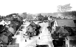 Leyburn, Market Place 1889