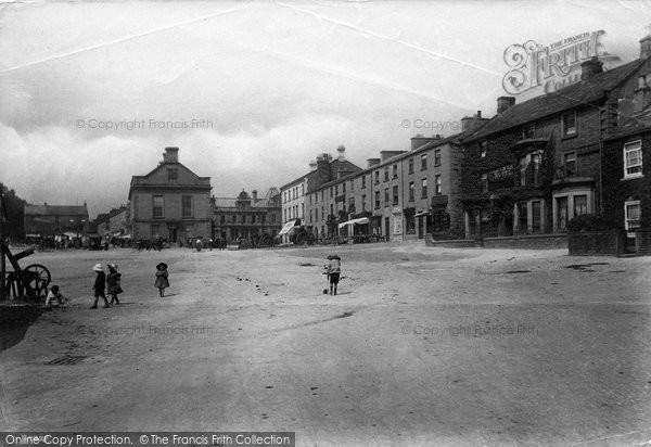 Photo of Leyburn, Market Place 1911