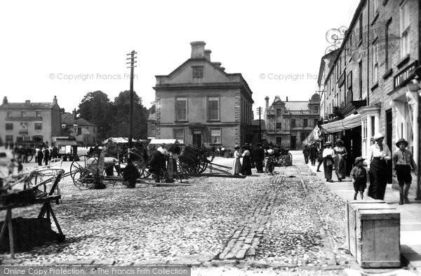 Photo of Leyburn, Market Place 1914