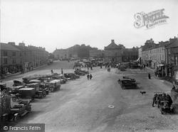 Market Place 1925, Leyburn