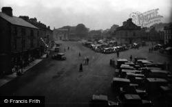 Leyburn, Market Place 1934