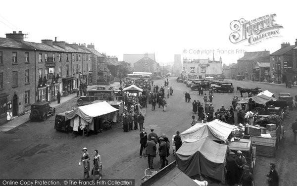 Photo of Leyburn, Market Place 1934