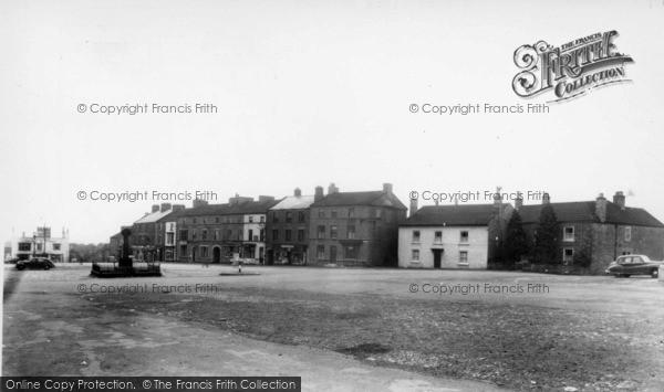 Photo of Leyburn, Market Place c.1960