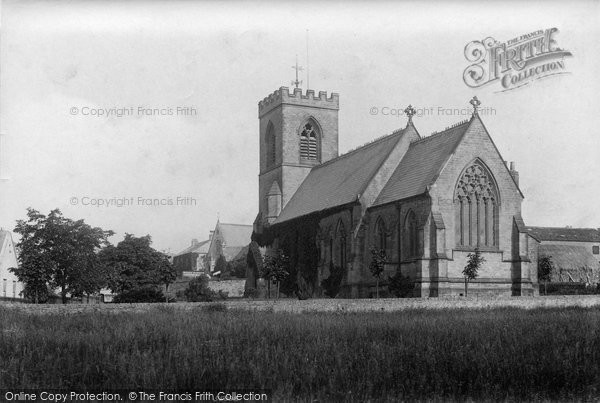 Photo of Leyburn, St Matthew's Church 1906