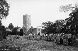 Leyburn, The Church, Thornborough Hall 1896
