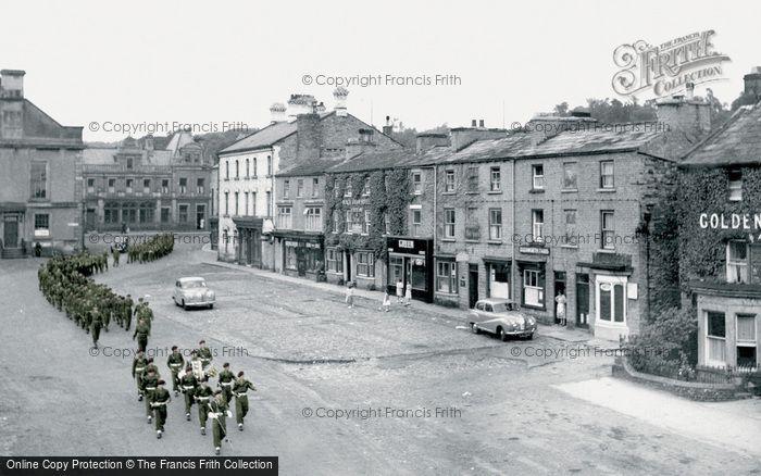 Photo of Leyburn, The Market Place c.1960