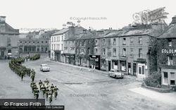 The Market Place c.1960, Leyburn