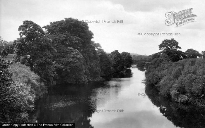 Photo of Leyburn, The River 1918