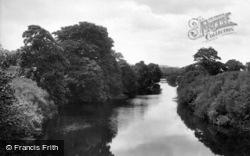 Leyburn, The River 1918