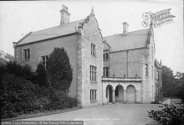 Photo of Leyburn, Thornborough Hall 1893