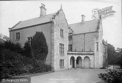 Leyburn, Thornborough Hall 1893