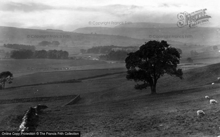 Photo of Leyburn, View From Richmond Road 1924