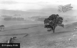 Leyburn, View From Richmond Road 1924