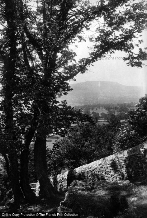 Photo of Leyburn, View From Shawl 1911