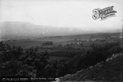 Leyburn, View From The Shawl 1893