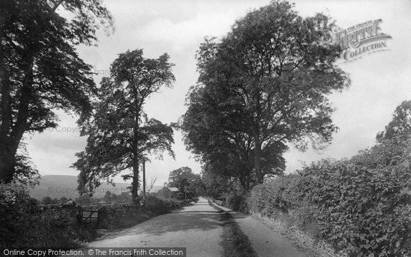 Photo of Leyburn, Wensleydale Lane 1911