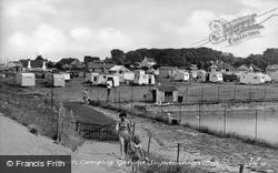 Central Beach Camping Ground c.1955, Leysdown-on-Sea