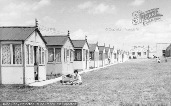 Photo of Leysdown On Sea, Chalets, Warden Bay Caravan Park c.1955