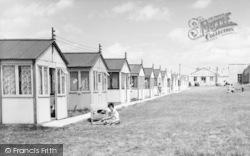 Chalets, Warden Bay Caravan Park c.1955, Leysdown-on-Sea