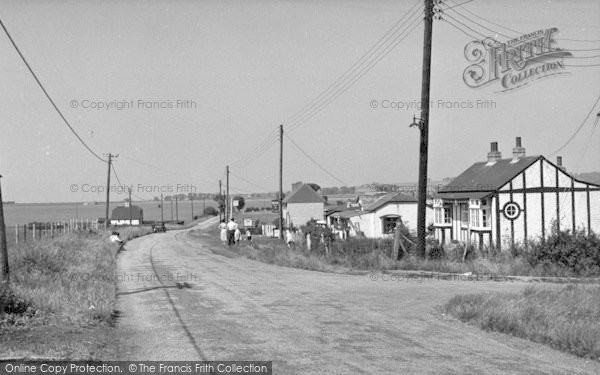 Photo of Leysdown On Sea, Eastchurch Road c.1955