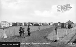 Priory Hill Camp c.1955, Leysdown-on-Sea