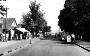 Leysdown-on-Sea, Station Road c1955