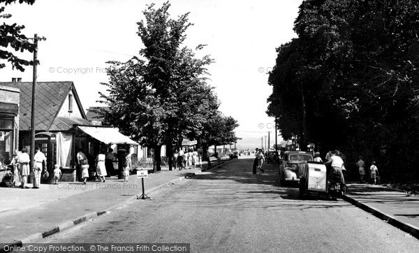Photo of Leysdown-on-Sea, Station Road c1955