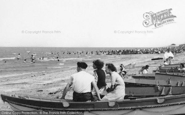 Photo of Leysdown On Sea, The Beach c.1955