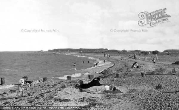 Photo of Leysdown On Sea, The Beach c.1955