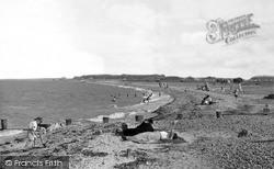 The Beach c.1955 , Leysdown-on-Sea
