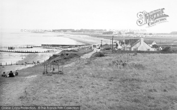 Photo of Leysdown On Sea, Warden Bay c.1955