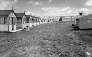Leysdown-on-Sea, Warden Bay Caravan Park c1955