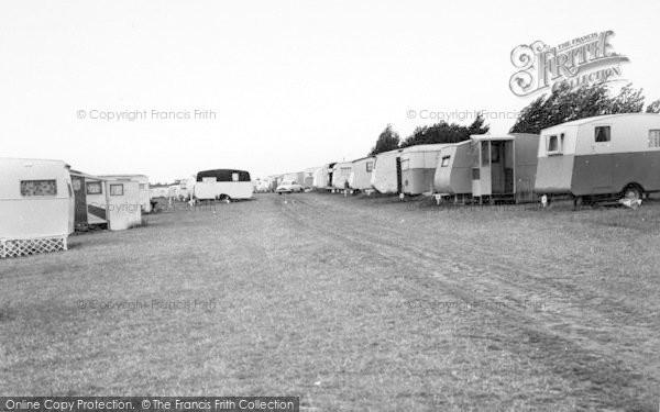 Photo of Leysdown On Sea, Warden Bay Caravan Park c.1955