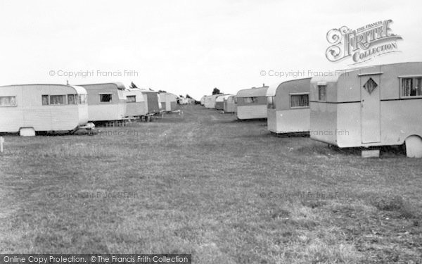 Photo of Leysdown On Sea, Warden Bay Caravan Park c.1955