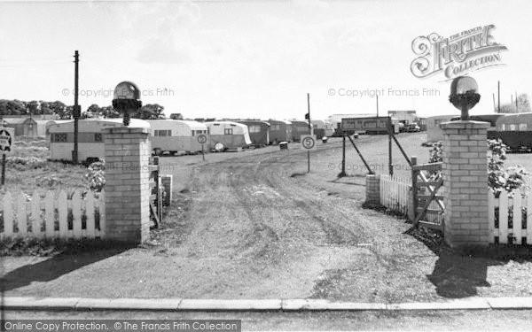 Photo of Leysdown On Sea, Warden Bay Caravan Park, Entrance c.1955