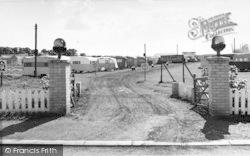 Warden Bay Caravan Park, Entrance c.1955, Leysdown-on-Sea