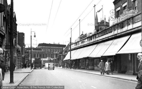 Photo of Leytonstone, High Road c.1955