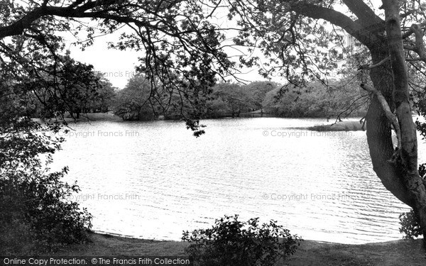 Photo of Leytonstone, Hollow Pond c.1955
