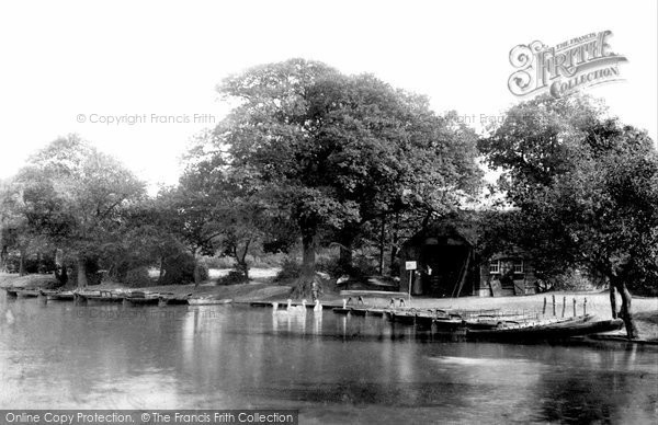 Photo of Leytonstone, Whipps Cross Hollow Pond 1903