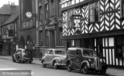 Austin A40 Devon And Ford 10 Cars c.1955, Lichfield