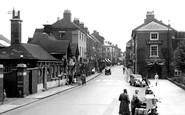 Lichfield, Bird Street 1953