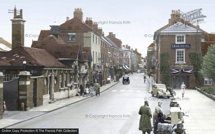 Photo of Lichfield, Bird Street 1953