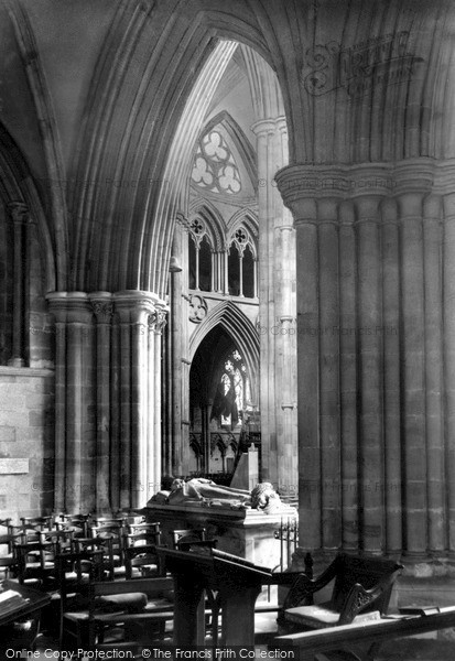 Photo of Lichfield, Cathedral, A View From St Stephen's Chapel c.1955