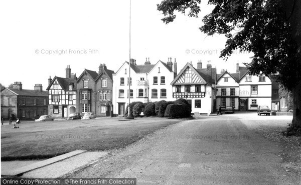 Photo of Lichfield, Cathedral Close c.1965