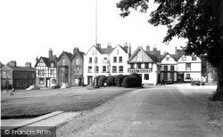 Cathedral Close c.1965, Lichfield