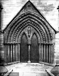 Lichfield, Cathedral, St Mary's Porch c.1862