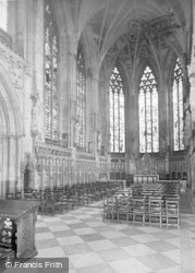 Lichfield, Cathedral, The Lady Chapel c.1955