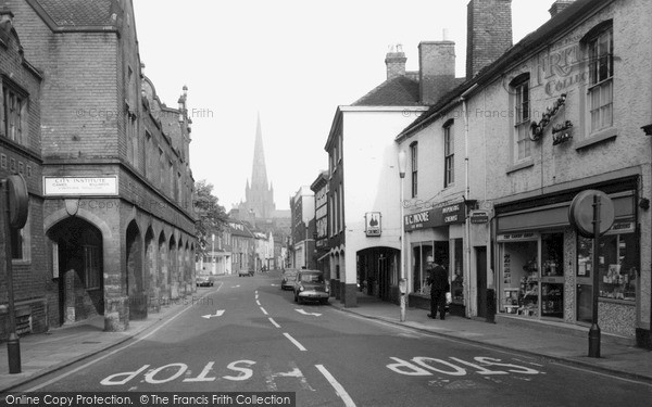 Photo of Lichfield, Conduit Street c.1965