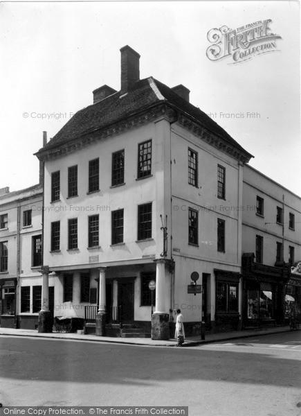 Photo of Lichfield, Dr Johnson's Birthplace c.1955